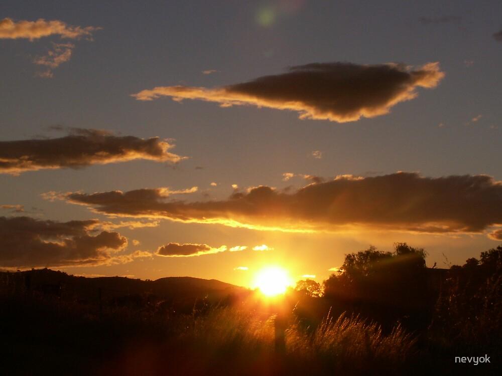 sunrise at bethanga victoria by nevyok