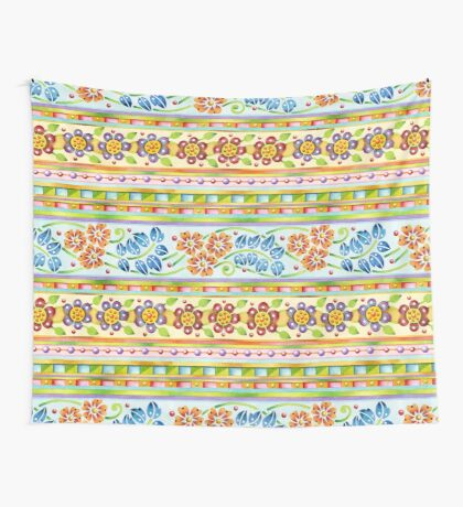 Parterre Botanique Wall Tapestry