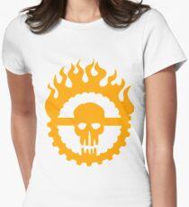 Guzzoline Robotics - Orange Logo Women's Fitted T-Shirt