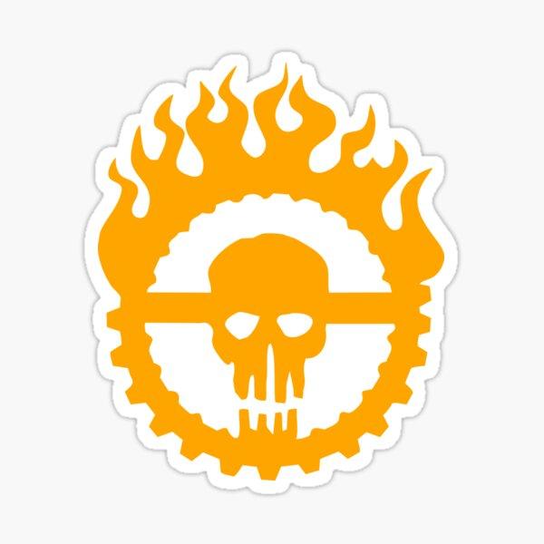Guzzoline Robotics - Orange Logo Sticker
