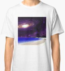 GALAXY BEACH pixelart Classic T-Shirt