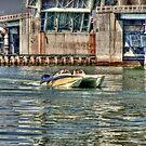 Speedboat  Approaches by photorolandi