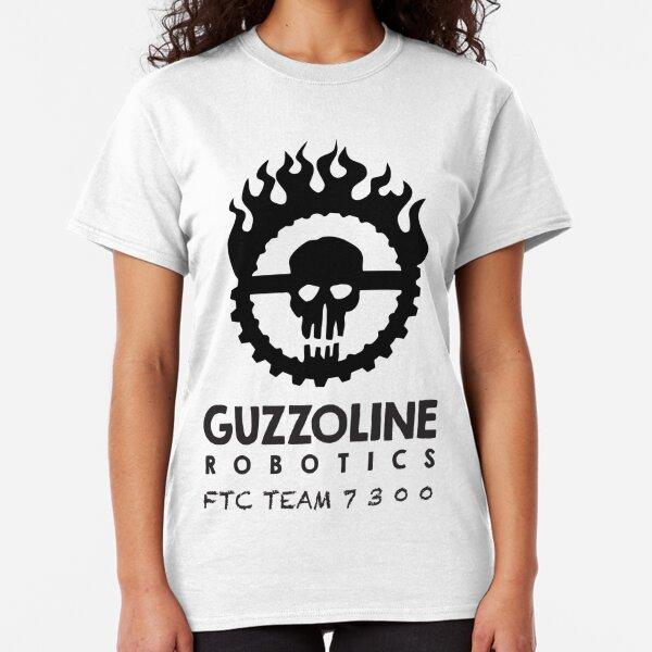 Guzzoline Robotics - Black  Classic T-Shirt