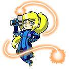 Zero Suit Samus [Cute Version] by goshdangtravino