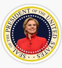 "Hillary McKinnon ""Presidential Seal"" Sticker"