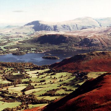 Derwentwater from Causey Pike by GHewstone