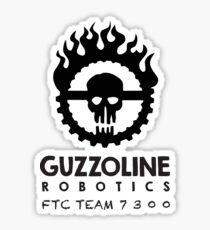 Guzzoline Robotics - Black Sticker