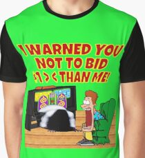 TV Game Show Wear - TPIR (The Price Is...)I Warned You Graphic T-Shirt