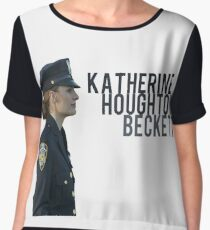 Kate Beckett Chiffon Top