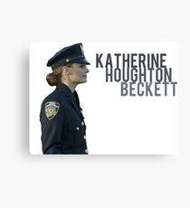 Kate Beckett Metal Print