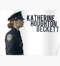 Kate Beckett Poster