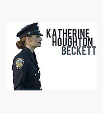 Kate Beckett Photographic Print