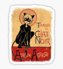 Tournee du Chat Noir Sticker