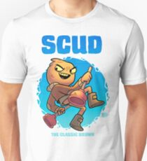 Scud - The Classic Brown Slim Fit T-Shirt