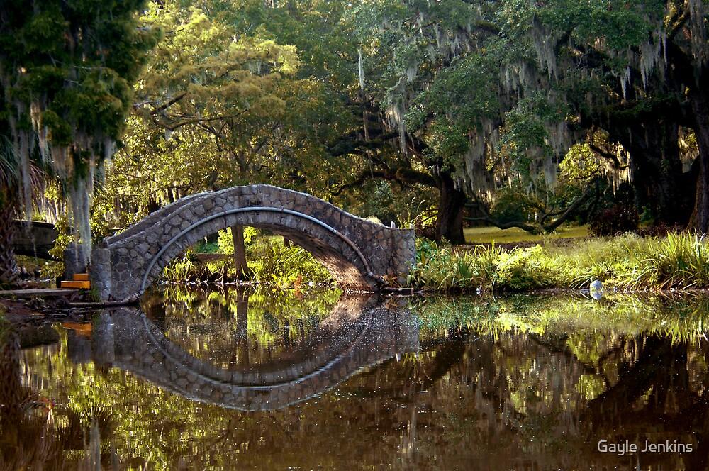 City Park bridge by Gayle Jenkins