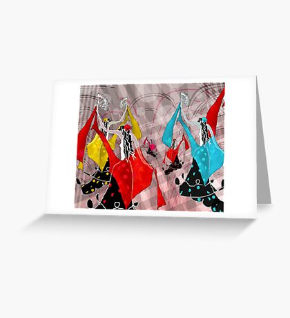 Fair in Andalusia Greeting Card
