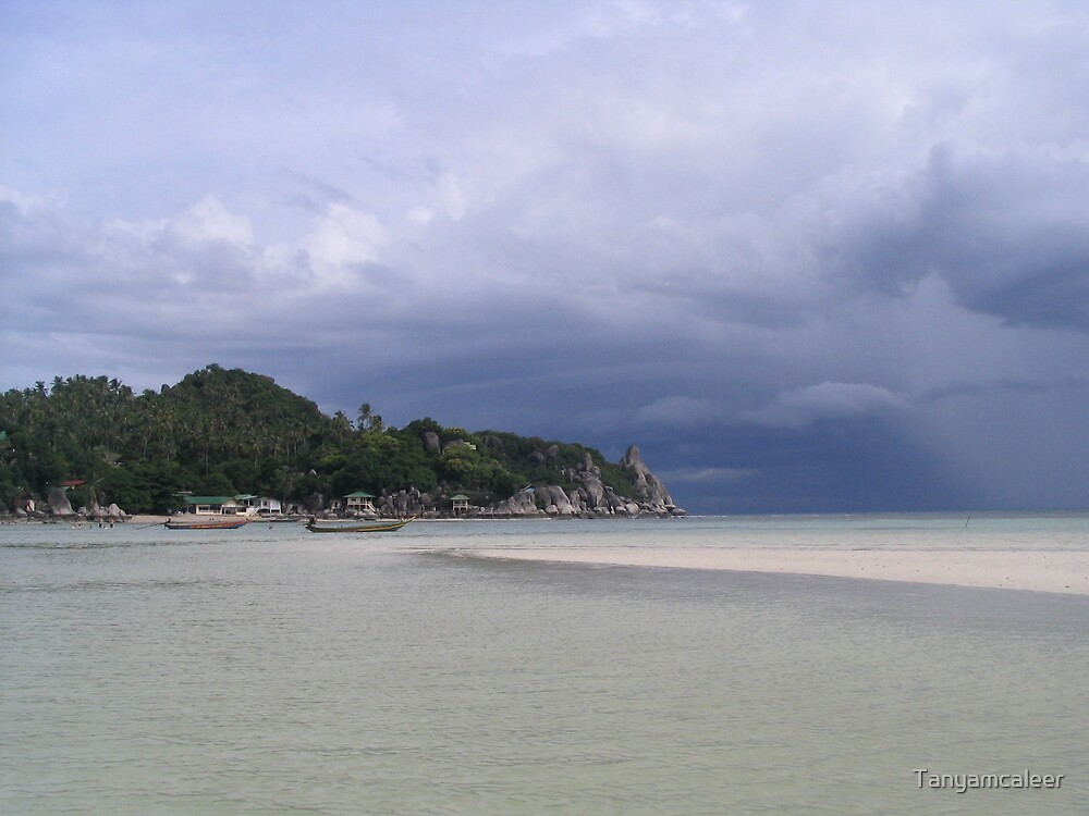 Beach on Koh Toa, Thailand by Tanyamcaleer