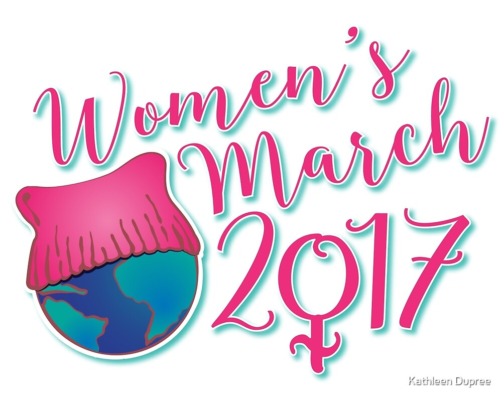 Women's March by Kathleen Dupree