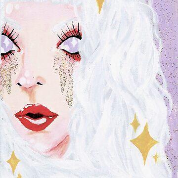 Glitter Tears by CharlotteMayhew
