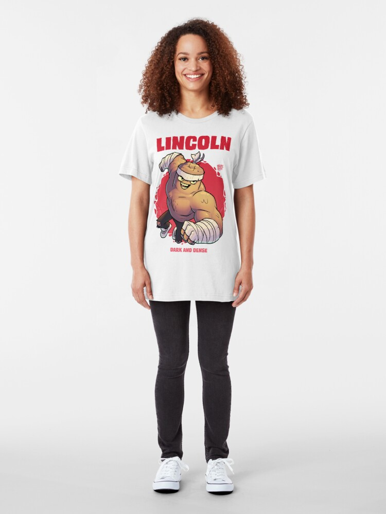 Alternate view of Lincoln - Dark and Dense Slim Fit T-Shirt