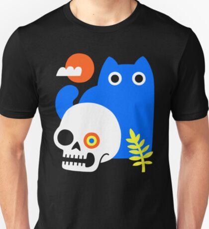 Little Blue Cat T-Shirt