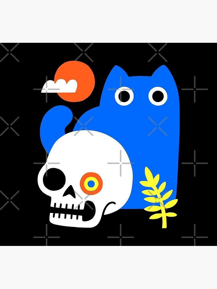 Little Blue Cat by obinsun
