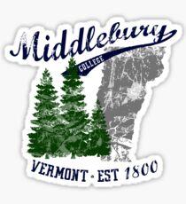 Middlebury Vintage Sticker