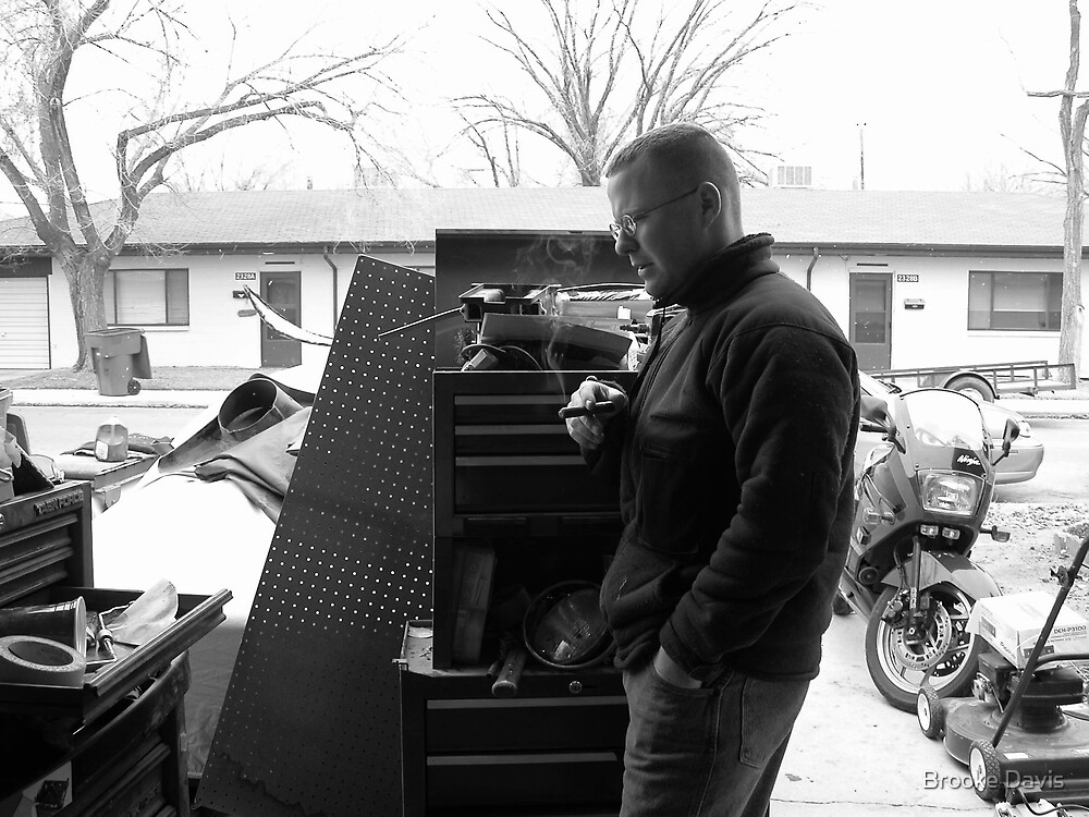 A Man, His Cigar, His Garage, It's a Beautiful Thing... by Brooke Davis