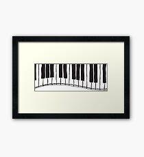 keyboard Framed Print
