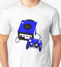 Electric Blue Game Cube Unisex T-Shirt