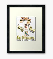Bring Back The Dinosaurs Framed Print