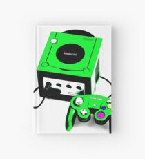 Electric Green Game Cube Hardcover Journal