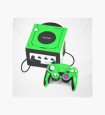 Electric Green Game Cube Scarf