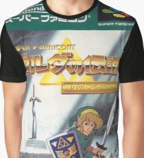 LEGEND OF ZELDA Kamigami no Triforce Graphic T-Shirt