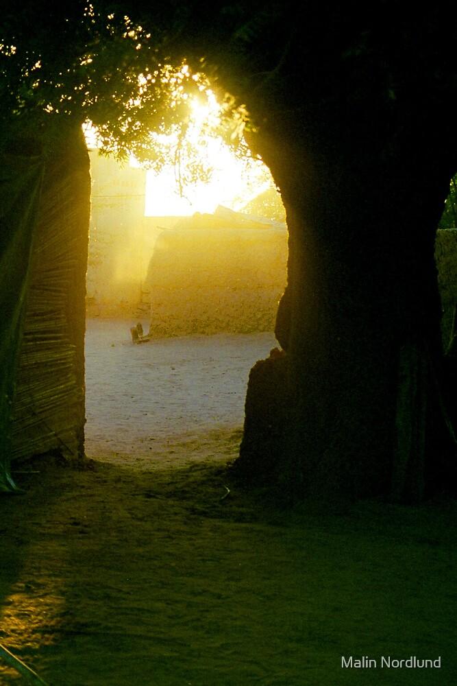 Sudanese sunset by Malin Nordlund
