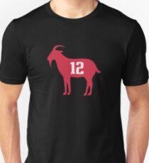 GOAT 12 TOM BRADY Unisex T-Shirt