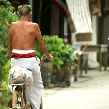 The Cyclist by Antwon