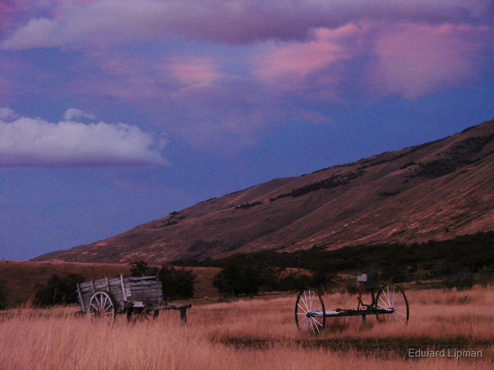 Patagonia at Dusk by Edward Lipman