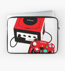 Red Game Cube Laptop Sleeve