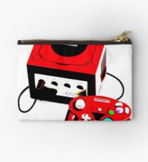 Red Game Cube Studio Pouch