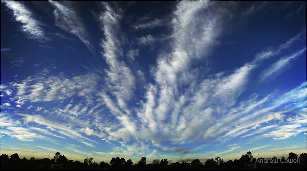 big country, big sky by Andrew Cowell