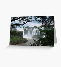 Iguasu Falls , Brazil Greeting Card