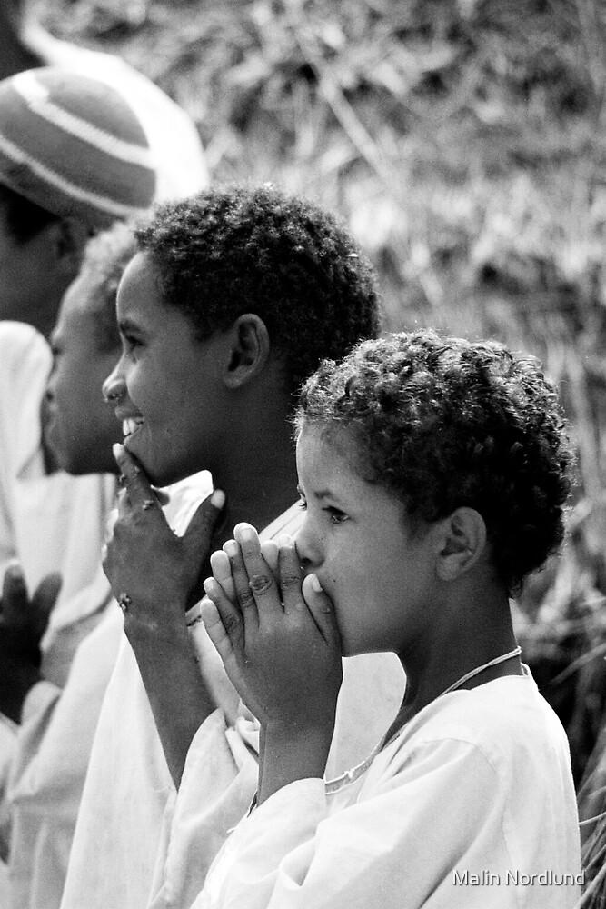Sudanese Boys by Malin Nordlund