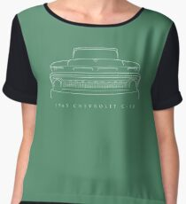 1965 Chevy C-10 Pickup - Front Stencil, white Chiffon Top