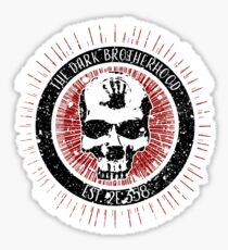 Dark Brotherhood Vintage Design Sticker