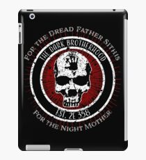 Dark Brotherhood Vintage Design iPad Case/Skin