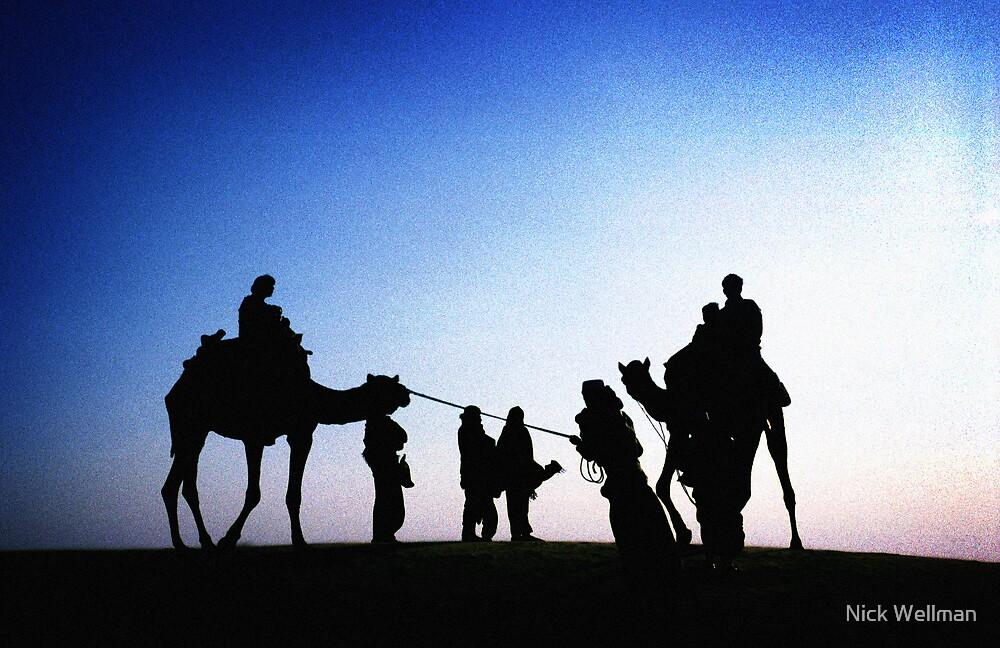 Jaisalmer Camels by wellman