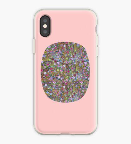 Psychedelic Pattern   Flower Frenzy II iPhone Case