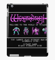 the world of wizardry iPad Case/Skin