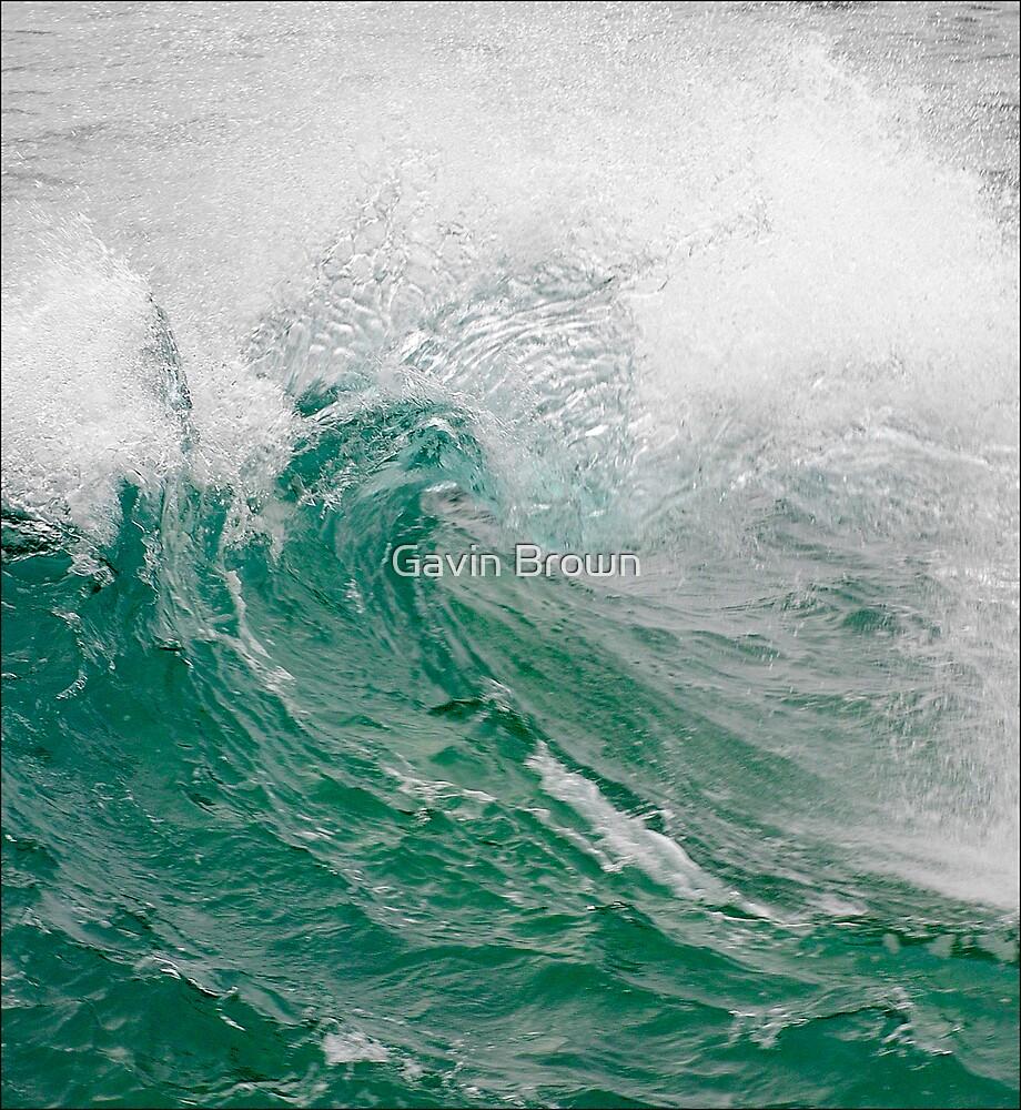 Green Wave by Gavin Brown